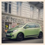 ŠKODA Citigo in der City