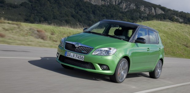 koda Fabia RS