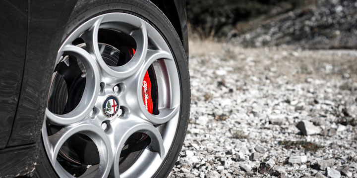Knnte standfester sein: Brembo Bremsanlage an der Giulietta